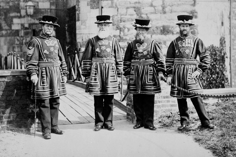 Beefeaters The Tower Of London c1890