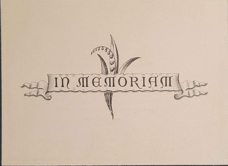 Memorial Card Stephenson Smith Died 17th April 1883