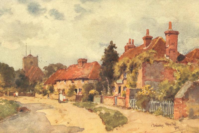 Amberley Church Sussex 1904