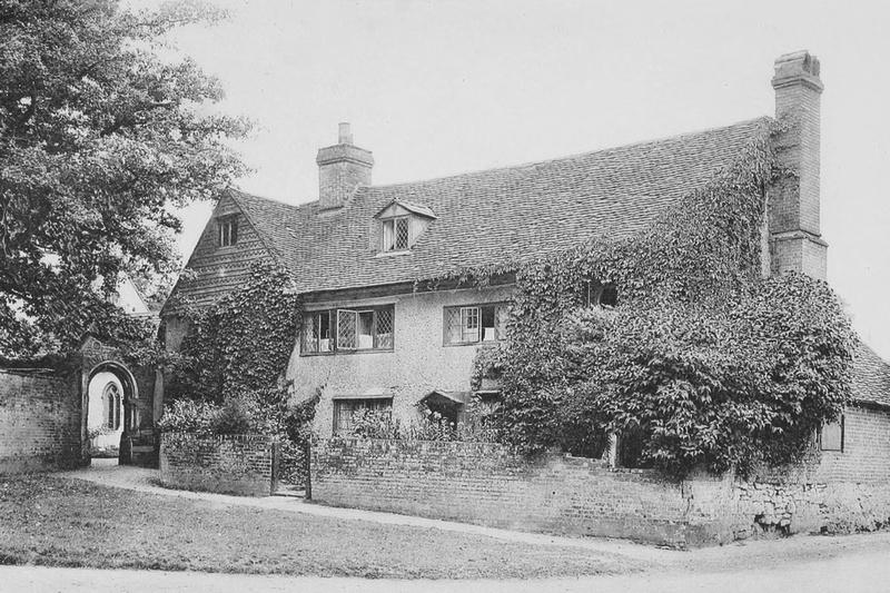 Cottages Church Green Beddington 1908