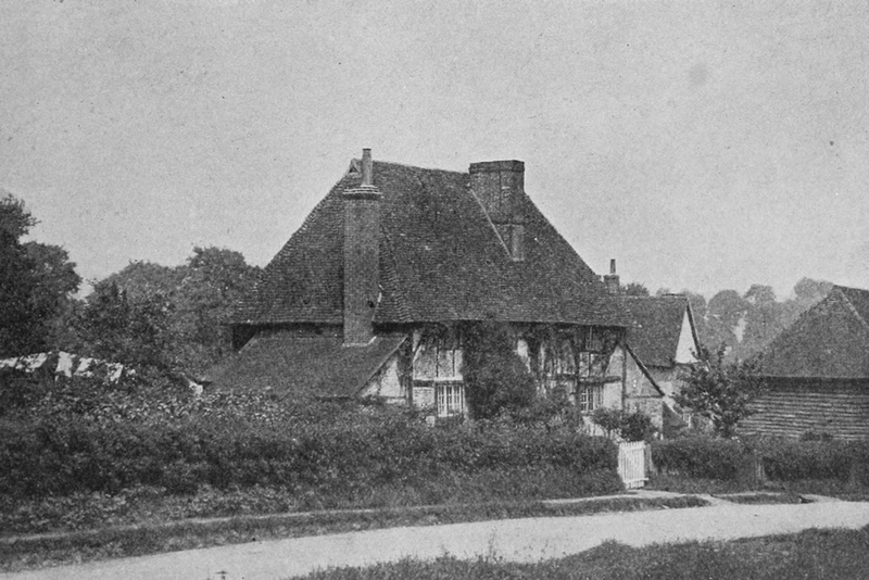 Cottages In East Horsley 1908