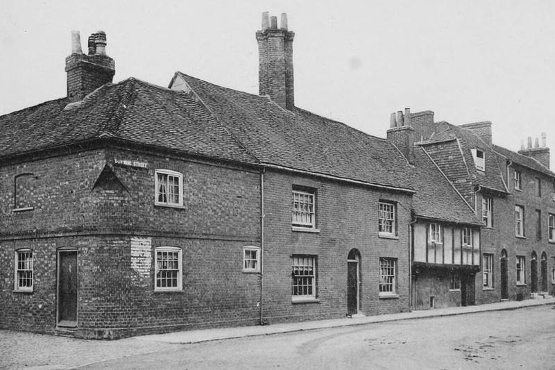 Downing Street Farnham 1908
