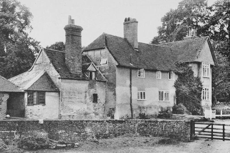 Spreakley Farmhouse Frensham Surrey 1908