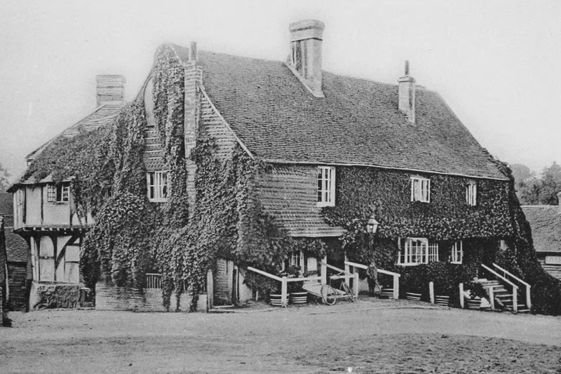 The Crown Inn Chiddingfold Surrey 1908