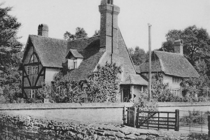 The Post Office Shamley Green 1908