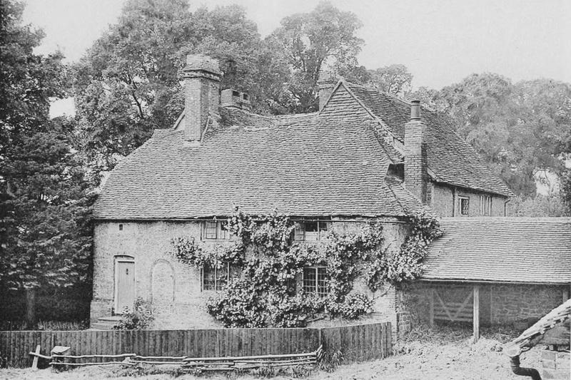 Hurtmore Farmhouse Near Goadalming 1908