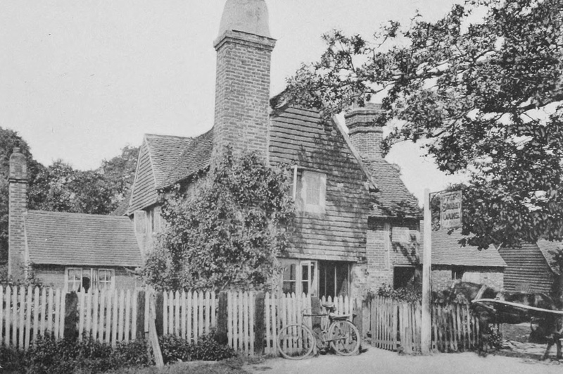 The Surrey Oaks Inn Near Newdigate 1908