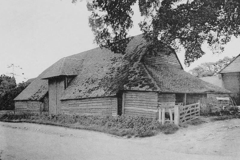 A Barn At Tongham 1908