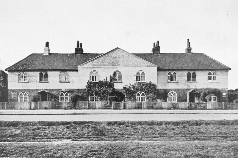 Cottages At Giggshill Green Near Esher Surrey 1920
