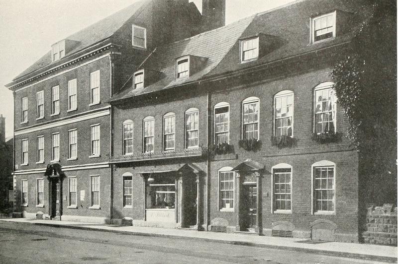Houses In Owen Street Hereford 1920