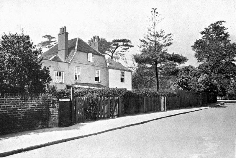 River Lane Petersham Surrey 1910