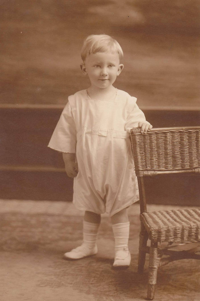 Young Boy Named Edward Bernard Butler