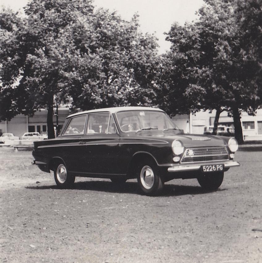 Mark 1 Ford Cortina Reg 5226 PG