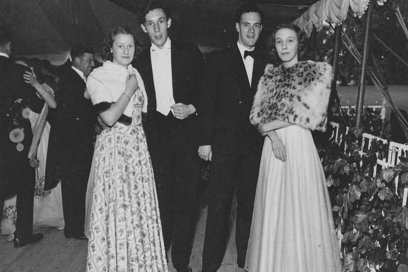 Dinner Dance Kensington 1950s