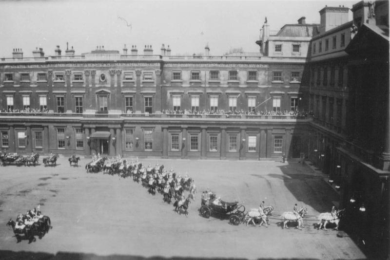 The Quadrant Buckingham Palace The Queens Coronation 1953