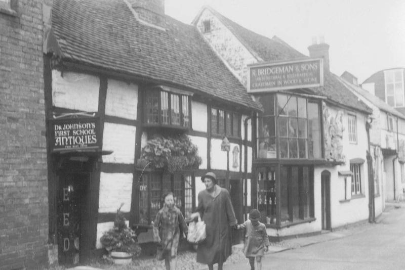 Quonians Lichfield Staffordshire 1940s