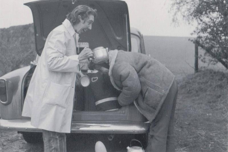 Having A Laugh At A Family Picnic 1950s