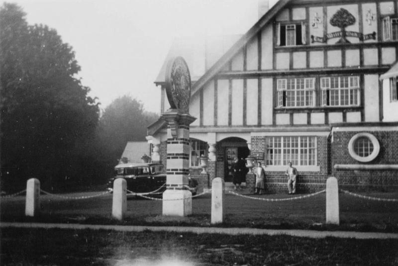 The Mitre Oak Hartlebury Worcestershire 1936
