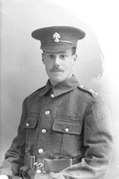 Airey A L Pte PS/4368 20th Royal Fusiliers Later Northumberland Fusiliers