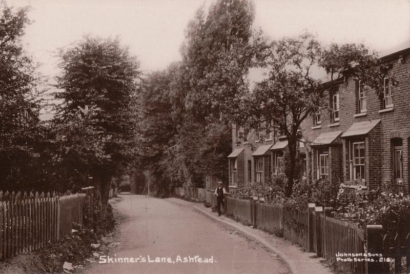 Skinner's Lane Ashtead c.1910
