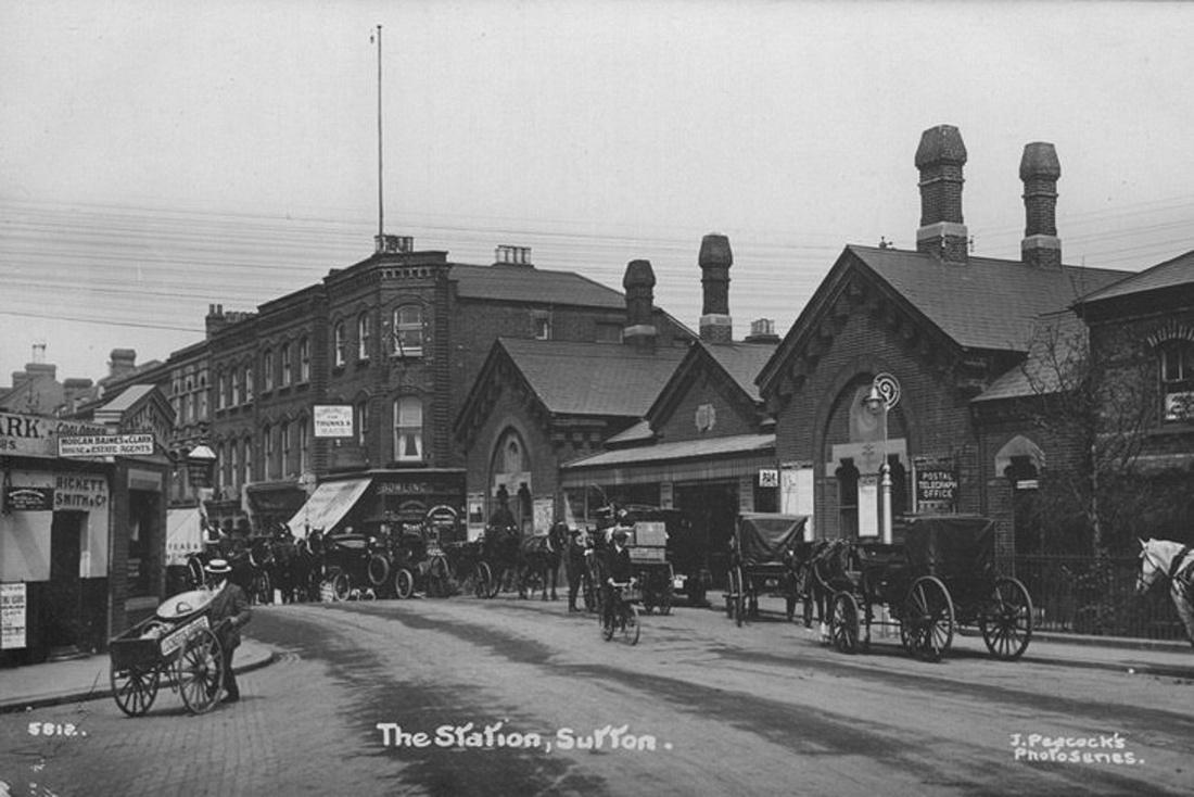 Sutton Station c.1915