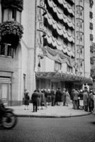 The Dorchester Decorated For The Queens Coronation 1953