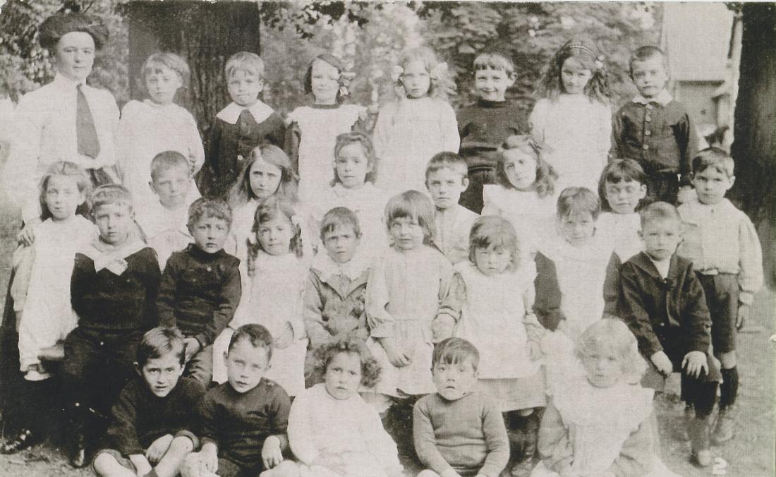 St Giles School Pupils 1911