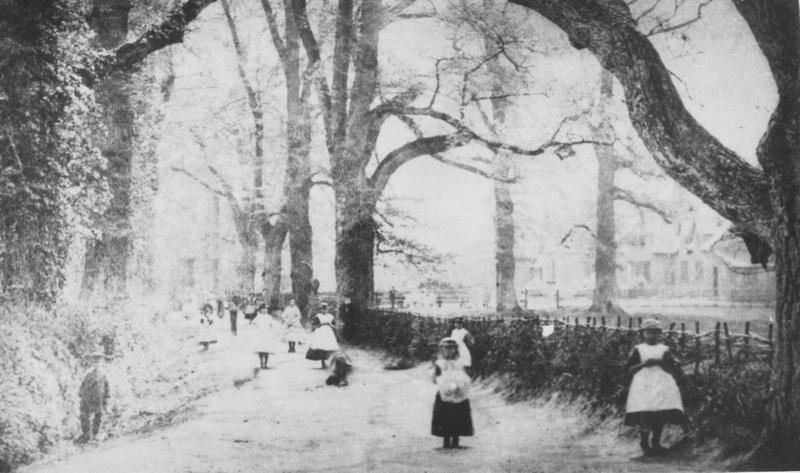 Children Leaving St Giles School c.1880