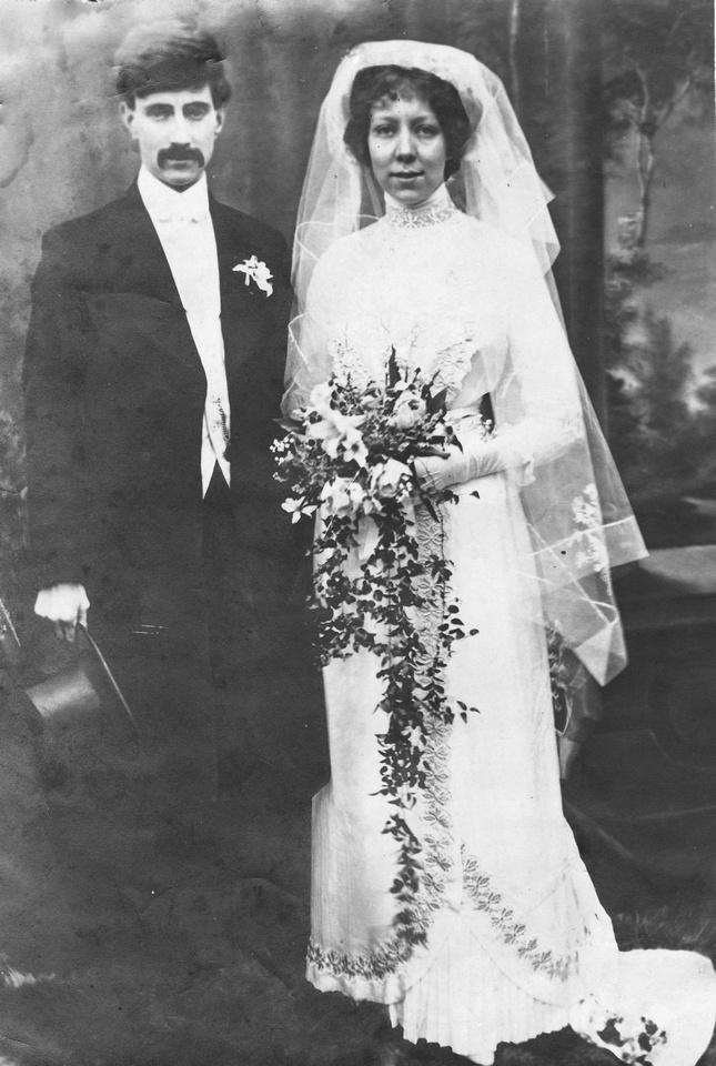 A Wedding c.1900