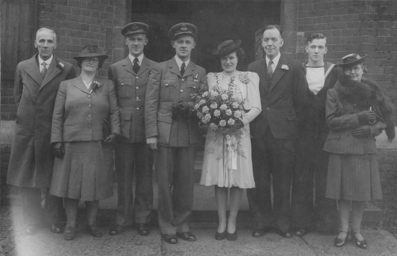 WW11 Royal Air Force Wedding