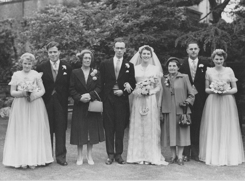 A 1950s wedding