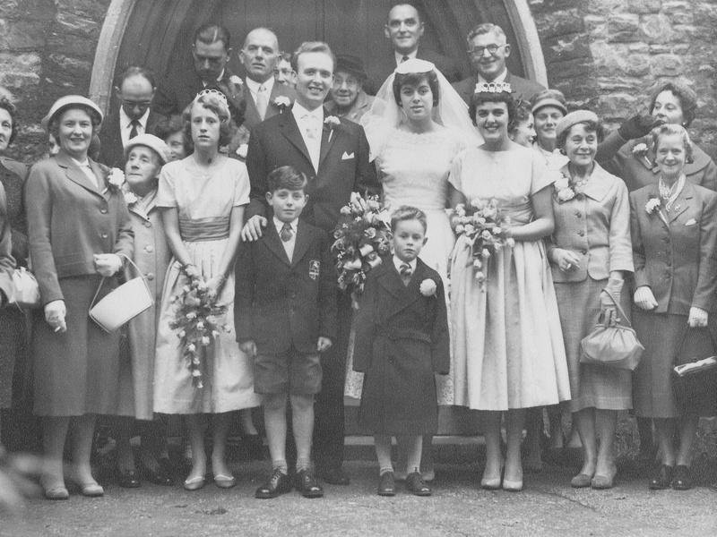 One 1950s Wedding