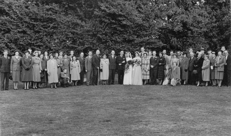 Marriage Of Margery Piles And Stanley Cole 20th Sep 1952 8
