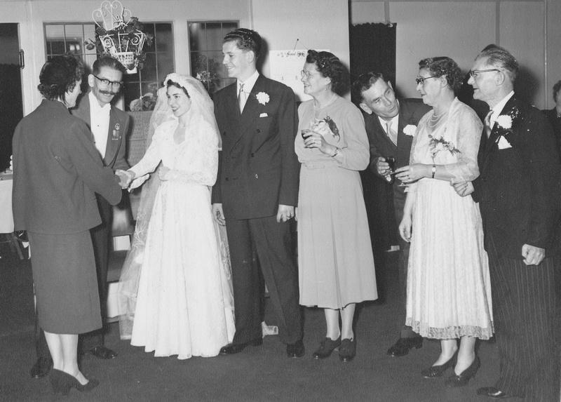 Wedding Of Gladys Brenchley And Geoffrey Brazill 8