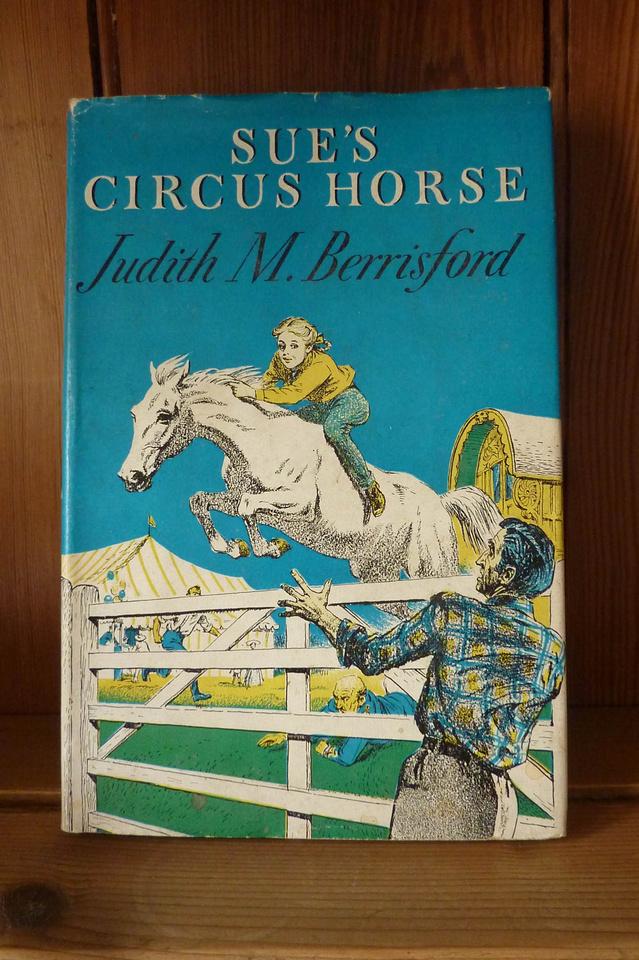 Sue's Circus Horse Judith M Berrisford Cover