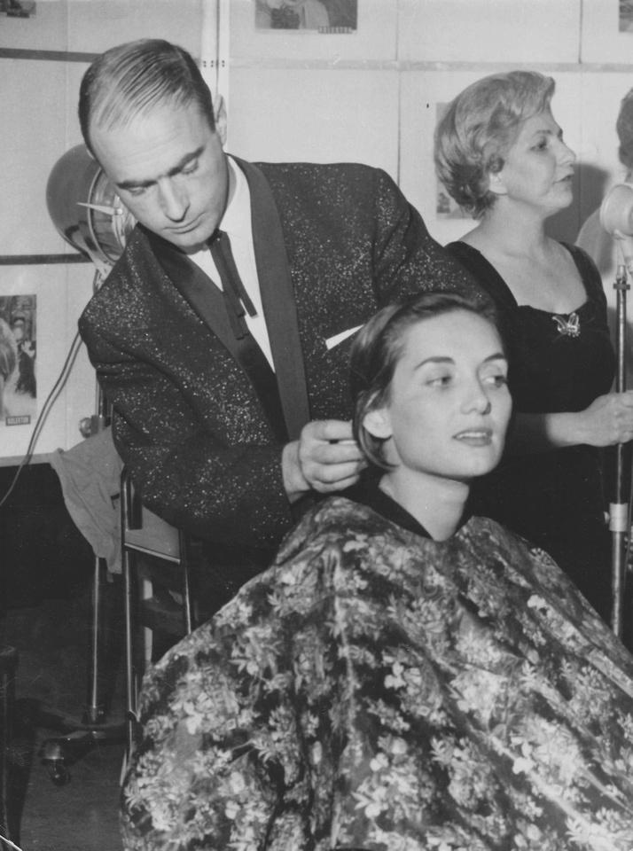 Hairdressing Salon 1961 Jean Jack Rossel Hairdresser