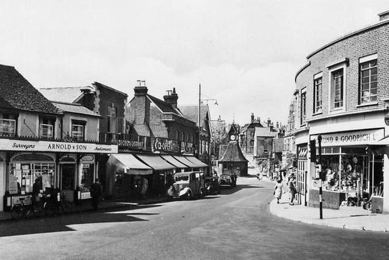 North Street Leatherhead 1960s