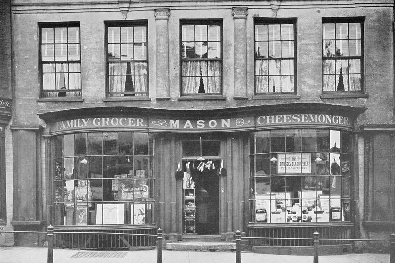 Shop At Dorking Surrey 1920