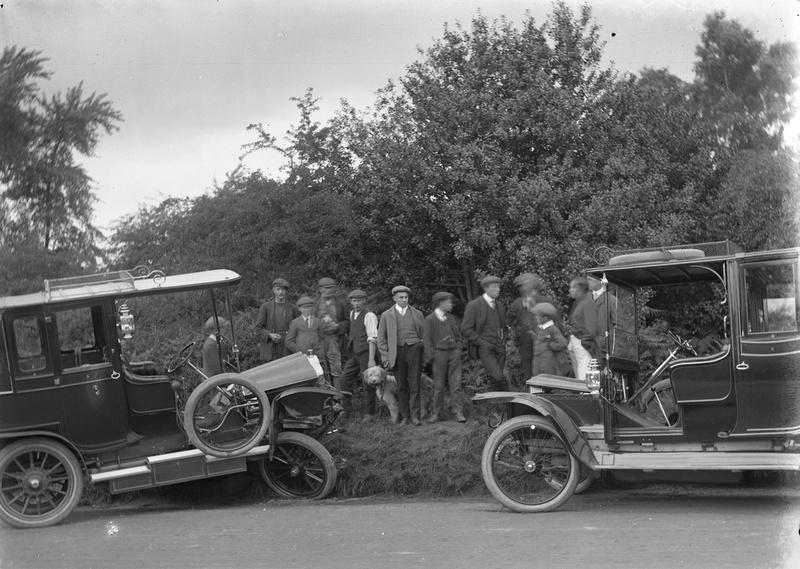 Burgh Heath Motor Accident 30 Jun 1912