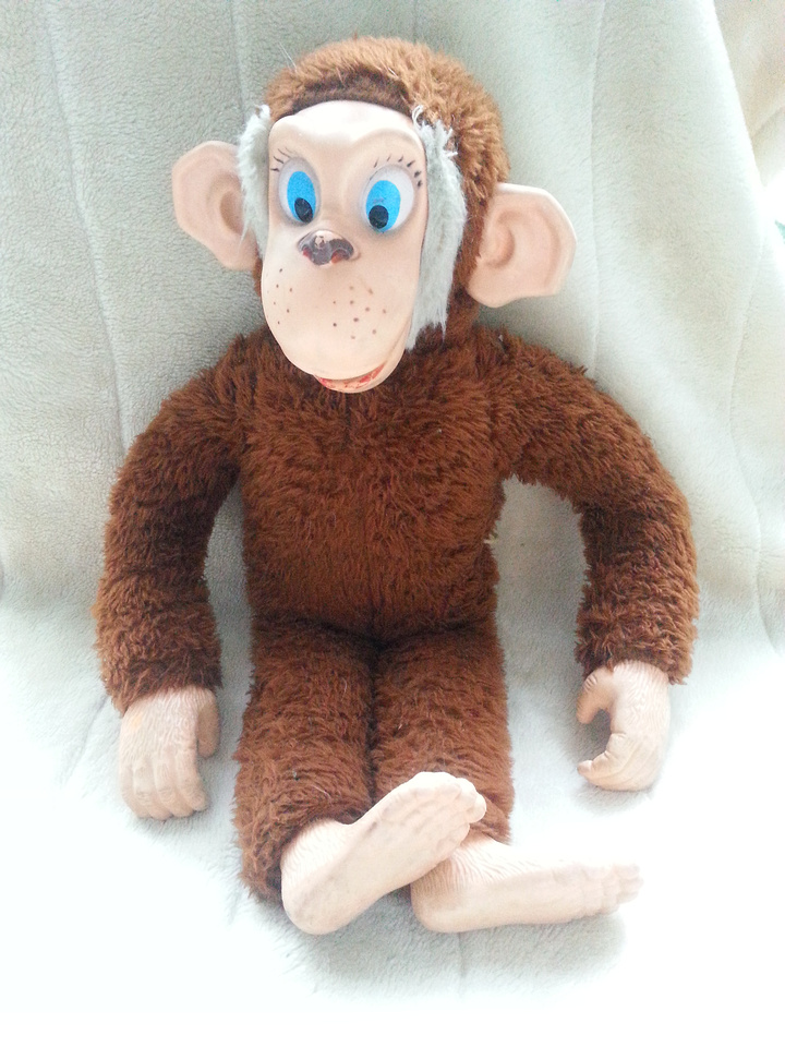 Vintage Talking Monkey Cuthbert The Chimp