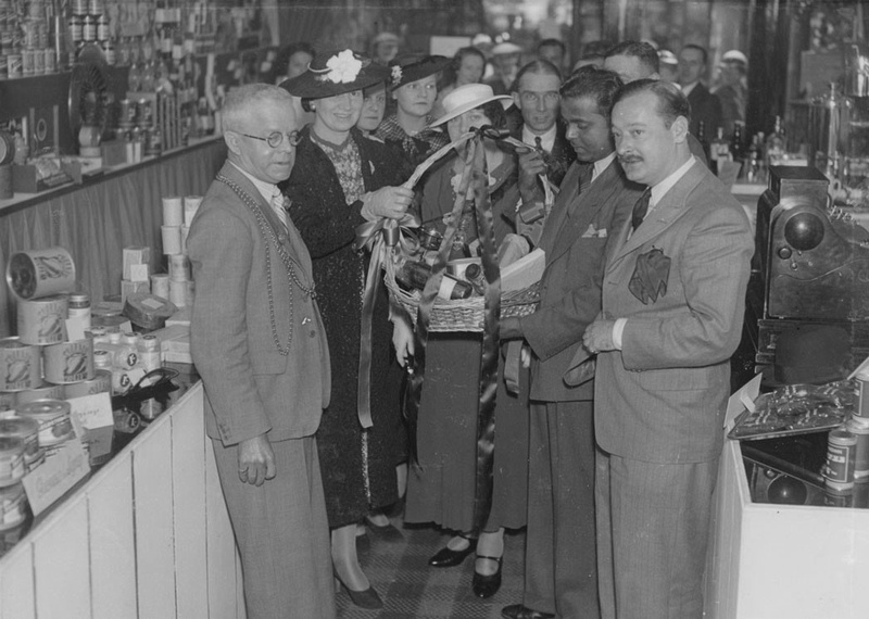 Opening An Exhibition Of Indian Products 130 Grainger Street, Newcastle, 18 July 1937