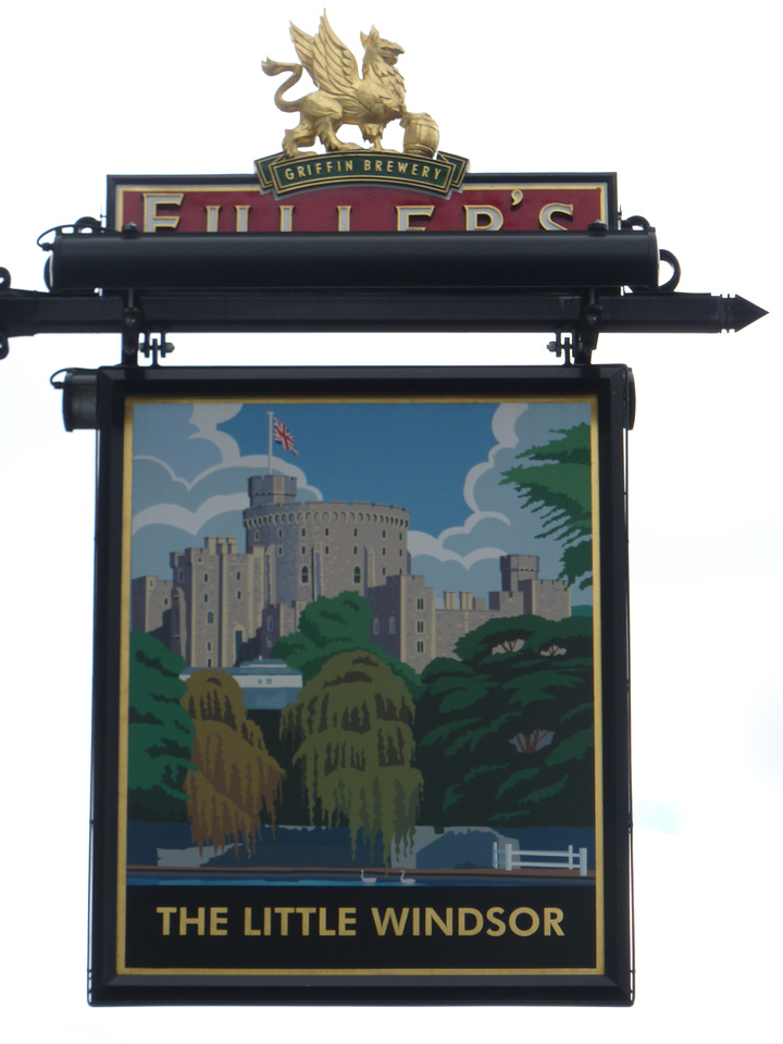 The Little Windsor Sign Greyhound Road Sutton