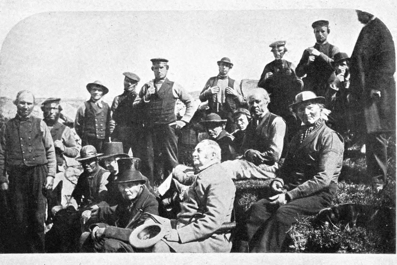 Group Of Old Scicilonians Scilly Isles 1907