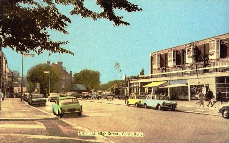 Carshalton High Street 1960s