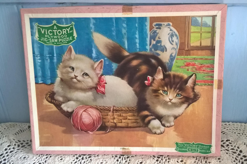 Victory Jigsaw Animal Series Kittens