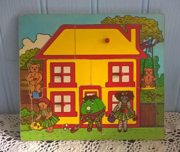 Play School Jigsaw 1970
