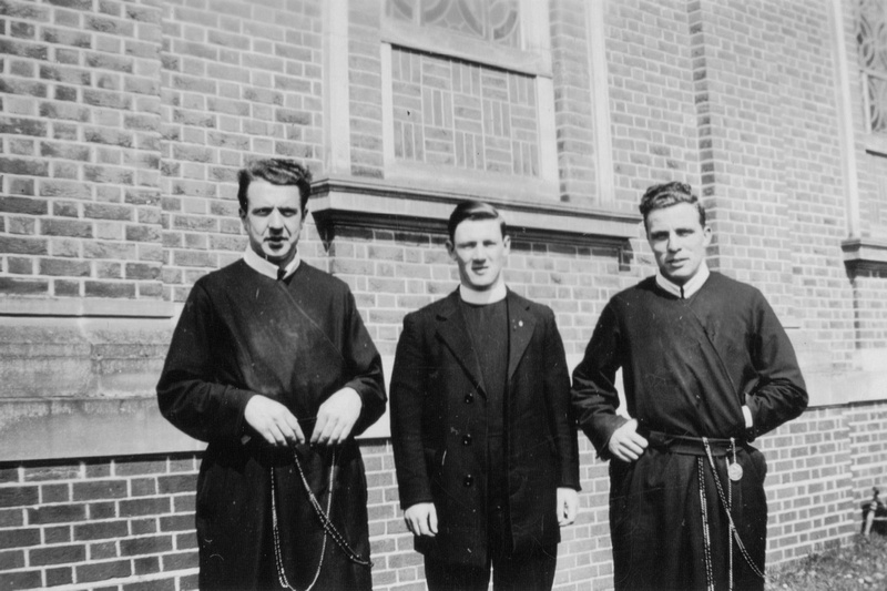 A Group Of Priests Ordination Father Gerard Ratcliffe On Left Of Photo