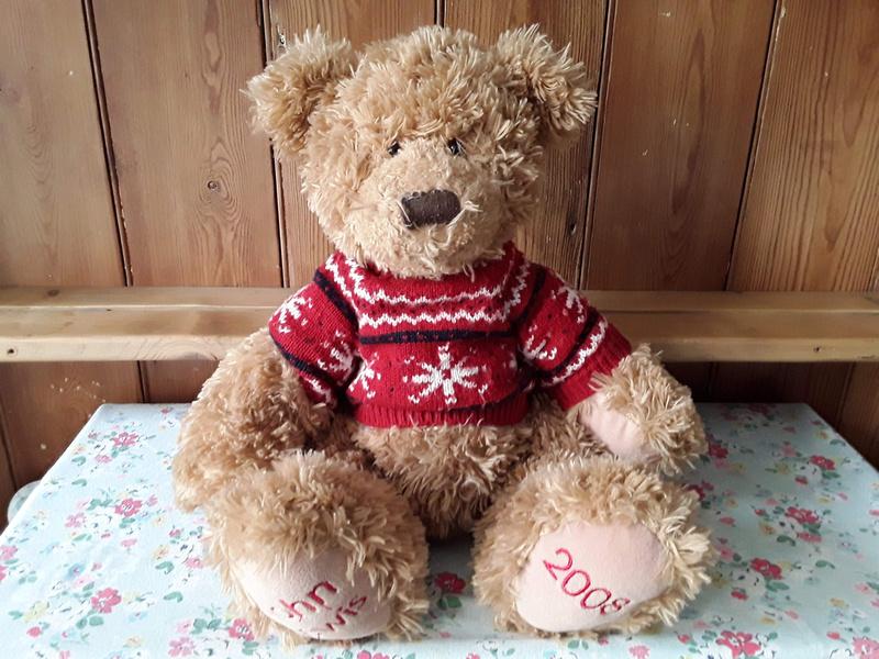 John Lewis Christmas Teddy 2008