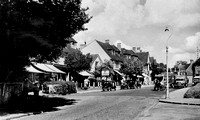 Ewell Road Cheam 1950s