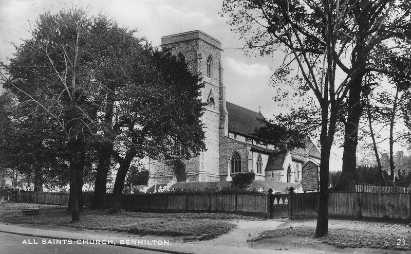Benhilton Church 1930s